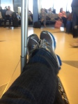 Chillaxin' at ORD