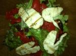 Yummy Halloumi Salad