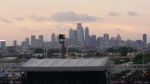 Philly Skyline from the Billy Joel Concert
